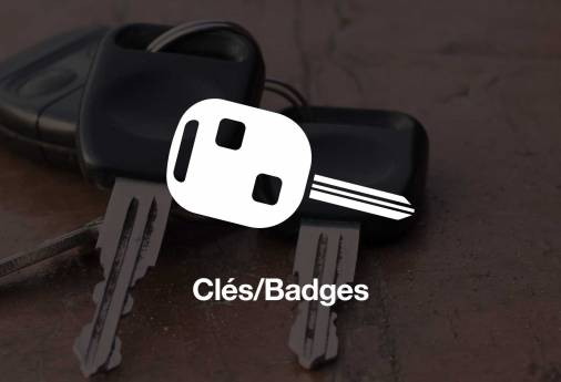 Perdu Badge domicile